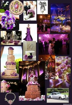 Plum and Champagne Wedding Ideas | What are the HOT wedding colors for 2010? - BridalTweet Wedding Forum ...