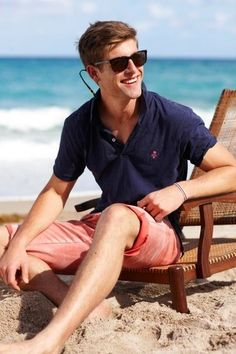 How to Wear a Navy Polo (46 looks) | Men's Fashion