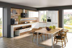 Dizajnové kuchyne - dotkuchyne.sk Table, House, Furniture, Home Decor, Interiors, Kitchen, Round Kitchen, Custom Kitchens, Apartment Interior