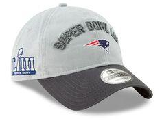 meet 703d5 f9096 Find a New England Patriots New Era NFL Super Bowl LIII Participant 9TWENTY  Cap at Lids