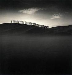 artnet Galleries: Hilltop Trees, Study 2, Teshikaga, Hokkaldo, Japan by Michael Kenna from Jackson Fine Art