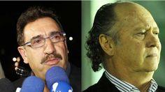 apresentador de tv Ratinho e o ex-jogador de futebol Falcão.
