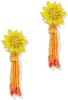 New York & Company Beaded Tassel Flower Earring Summer Essentials, Flower Earrings, Tassels, Finding Yourself, New York, Flowers, Kitchen, Color, Fashion