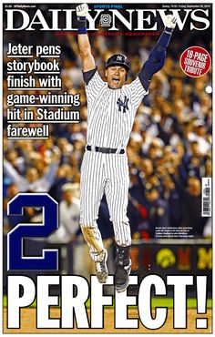 Derek Jeter pens storybook finish at Yankee Stadium: nydn.us/1pvEbS4