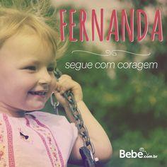 Quem aí também tem uma #Fernanda em casa ou na barriga? No nosso site, você confere mais curiosidades e a numerologia de Fernanda (e de muuuitos outros nomes lindos!) #NomesSignificados #escolhadonome
