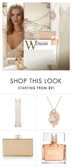 """Beige tones of elegance"" by kseniz13 ❤ liked on Polyvore featuring Ghost, LE VIAN, Judith Leiber, Whiteley, Givenchy, outfit, Elegant, beige, women and tenderness"