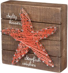Starfish String Wall Art
