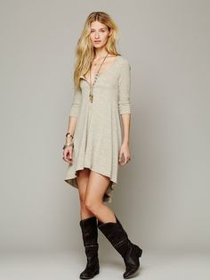 Free People Drippy Jersey Dress, 78.00