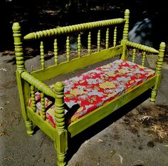 Use an old twin bed!