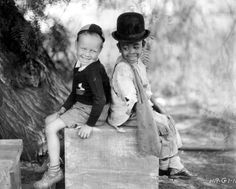Little Rascals - wheezer and stymie - I can still hear all their cute little voices!