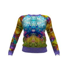 Hey June Handmade Lane Raglan made with Spoonflower designs on Sprout Patterns. This pattern was made from photos I took at the Desert Botanical Gardens in Phoenix Arizona when Chihuly had his glass sculptures on display in 2014