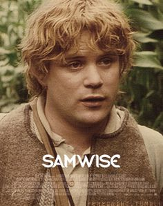 Sam- pretty much way cooler than Frodo.. In fact I believe if stupid Frodo would've died that Sam could've destroyed the ring in half the time!