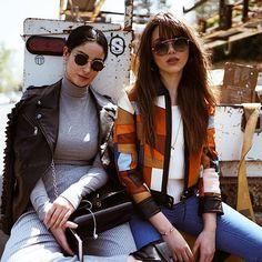 Fiona Zanetti & Kristina Bazan