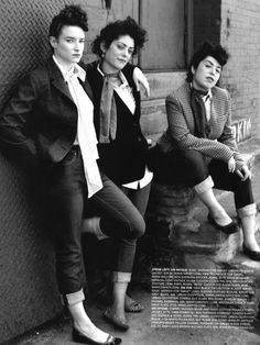 Taking inspiration from Teddy Girls.
