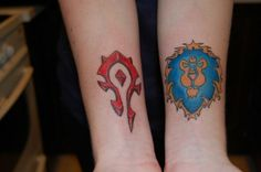 world of warcraft wedding tattoos - Google Search