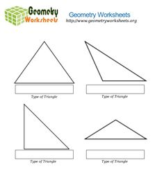 Image result for sheet with 4 different triangles Geometry Worksheets, Unit Plan, Pinterest Board, Triangles, Line Chart, The Unit, How To Plan, Image