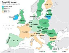 Europe GDP Forecast, 2015
