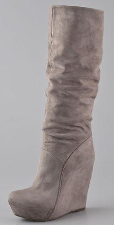 Vic Matie - Platform Wedge Boots