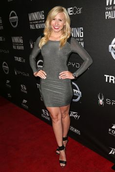 Courtney Force Photos - Charity Screening of 'Winning: The Racing Life Of Paul Newman' - Red Carpet - Zimbio