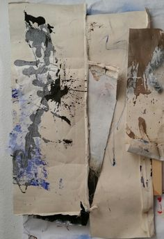 naomi middelmann, painting deconstructed 8 on ArtStack #naomi-middelmann #art