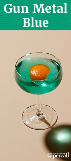 Bright blue drinks aren't usually prized for their subtlety, but trust us on this one. This mixed drink adds smoky mezcal and bitter cinnamon syrup.