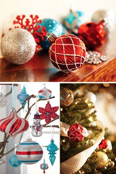 It's the Christmas ornaments that complete the look of your holiday décor. They're also the most fun part of Christmas decorating. The Home Depot has ornaments in all shapes, sizes and colors so your holiday decorations can express your Christmas style. Check out our wide selection of ornaments, and start planning your Christmas décor.