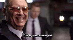 'Red' on The Blacklist. Played by the brilliant James Spader. Cristina Yang Grey's Anatomy, The Blacklist Quotes, James Spader Blacklist, Red Quotes, Boston Legal, Go Jogging, Sandra Oh, One Liner, Badass Quotes