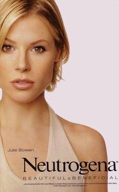 Julie Bowen Neutrogena Ads