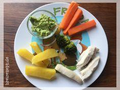 Gemüsesticks als Fingerfood für das Baby