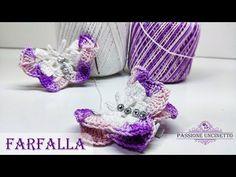 Farfalla amigurumi: schemi e video tutorial - Creatività Organizzata | 177x236