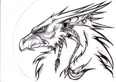 Resultado de imagen para mythical griffin drawings