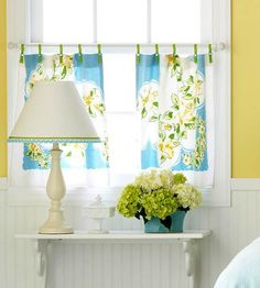 kitchen curtains diy - Kitchen Curtain Ideas Diy