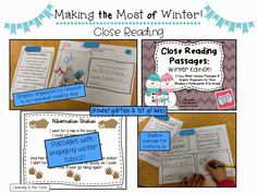 Learning to the Core: Making the Most of Winter: Literacy Ideas