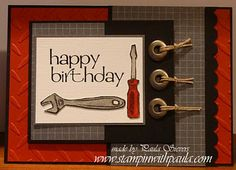 Stampin with Paula: Masculine Cards
