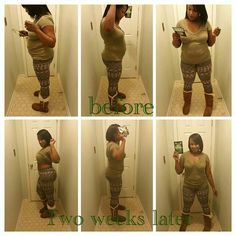 These results are from two weeks of drinking TLC's Iaso Detox Tea 3xs a day. Remember summer bodies are built in the winter. Contact me today at totalsensualitea@gmail.com