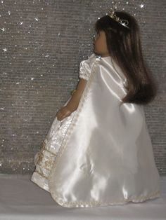 Princess Dress for your American Girl doll by CarmelinaCreations