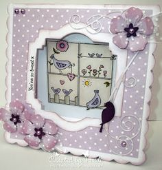 Little Claire's Designs: Little Claire Likes ..... 'You're So Tweet' - Tunnel Card