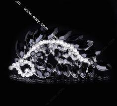7.2x3.7cm Black Trendy Peacock Tail Spread Paved Crystal Lady Pin Brooch Rhinestone  #eozy