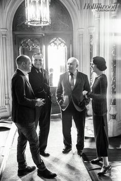 Emmys: On the Set of 'Downton Abbey' as Hollywood Reporter Gets Exclusive Look at Season 5 (Photos)