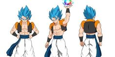 Dragon Ball Super Broly SSB Gogeta