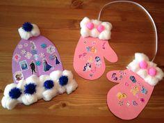 Winter Hat and Mitten Craft - Winter Craft
