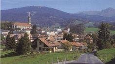 Vue sur Châtel-St-Denis St Denis, Switzerland, Paris Skyline, Tourism, Dolores Park, Italy, Country, Live, Places