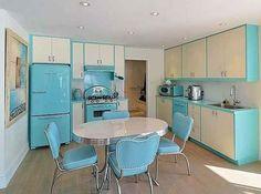 cozinhas retro verde - Pesquisa Google
