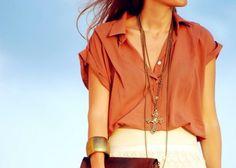 Light Brown Top