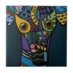 16 x 16 Deny Designs Sharon Turner Leopard Queen Indoor//Outdoor Square Tray