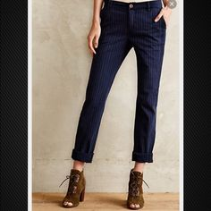 NWT Anthropologie: pilcro and the letterpress sz30 Awesome Hyphen chino pants. Super soft and comfy!!! NWT❤️ Anthropologie Pants Trousers