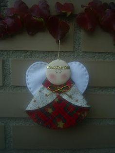 Belén Patchwork: Ángel de Navidad
