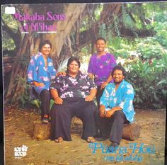 Hawaiian record. Puana hou me ke aloha by The Makaha Sons of Niihau. -Honolulu, Hawaii, Poki Records SL 9041, stereo, p1984.