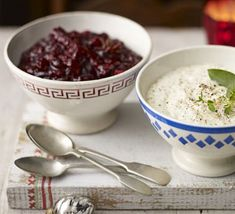 Keep this Christmas-spiced cranberry sauce in the fridge for up to a week before the big day