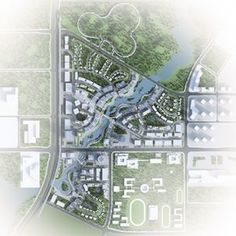 Located in Bishan, 35 kilometers west of the center of Chongqing, this master plan leverages the dramatic natural setting and encourages a retail and commercial core that will be at the heart of the city's growth. Nestled between mountain ridges in